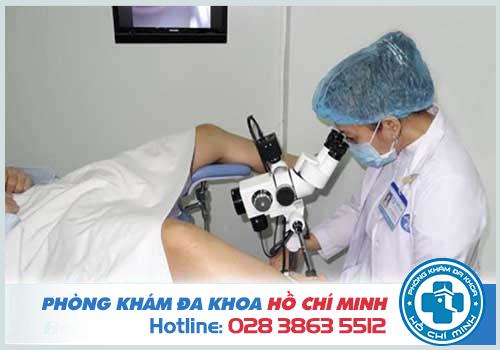 Qui trình khám sản phụ khoa bên trong âm đạo
