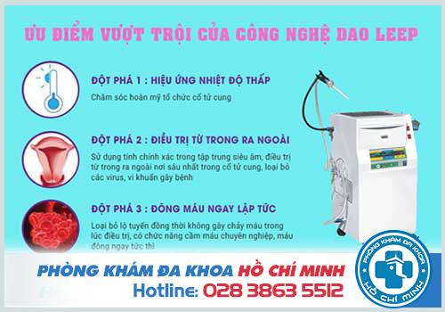Đột phá của công nghệ Dao Leep trong điều trị viêm lộ tuyến cổ tử cung độ 4