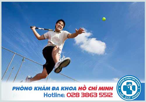 Rèn luyện thể thao thường xuyên để cải thiện tình trạng xuất tinh sớm
