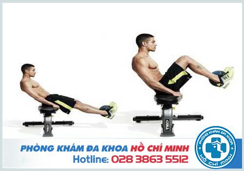 Bài tập tăng cơ chân cho nam giới