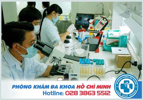 Thông qua kết quả xét nghiệm sẽ chẩn đoán bệnh da liễu chính xác hơn