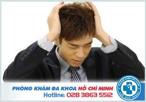 Bệnh liệt dương có thể do nam giới bị căng thẳng kéo dài