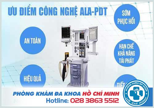 Công nghệ ALA - PDT là cách chữa trị bệnh sùi mào gà ở mắt an toàn hiệu quả nhất hiện nay