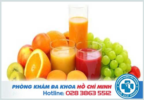 Chế độ ăn uống cần bổ sung nhiều chất xơ và vitamin