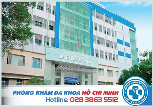 Bệnh viện Bình Dân là bệnh viện chữa sùi mào gà tốt nhất hiện nay