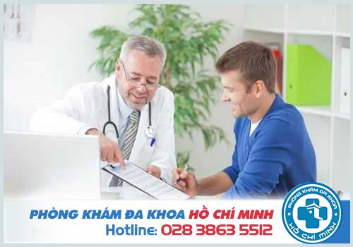Phái mạnh nên nhanh chóng đến cơ sở y tế để thăm khám vấn đề của mình
