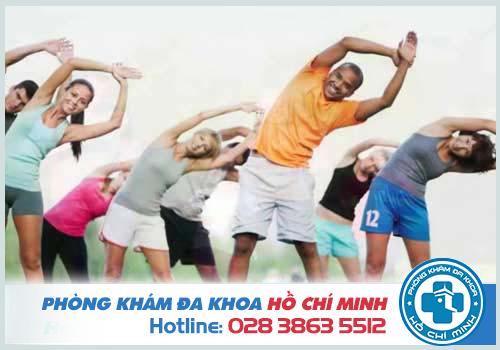 Sống lành mạnh, tập luyện thể thao giúp cai thiện liệt dương