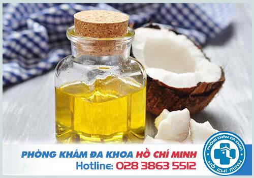 Cách chữa bệnh trĩ bằng dầu dừa như thế nào?