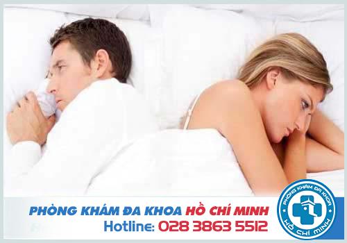 Trĩ gây đau đớn, khó chịu dẫn tới suy giảm ham muốn tình dục