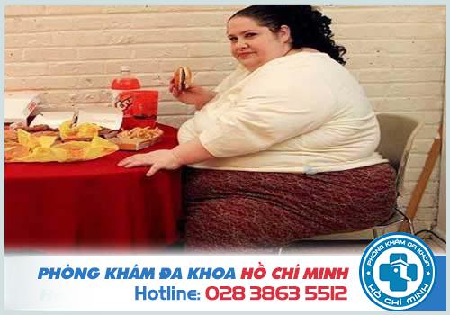 Người béo phì có khả năng mắc bệnh trĩ khá cao