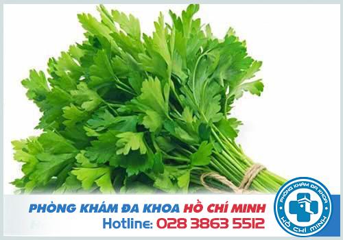 Mùi tây là một vị thuốc quý trong Đông y giúp chữa trị rong kinh hiệu quả