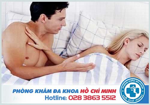 Rối loạn cương dương gây nhiều khó khăn trong đời sống tình dục
