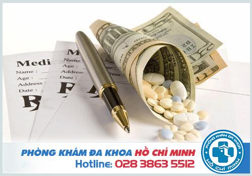 Chi phí khám chữa theo qui định đề ra của Sở y tế