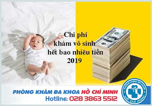 Chi phí khám vô sinh ở bệnh viện Từ Dũ hết bao nhiêu tiền 2019