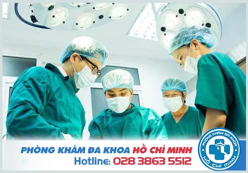 Điều trị bằng phẫu thuật đang được coi là đạt hiệu quả cao nhất