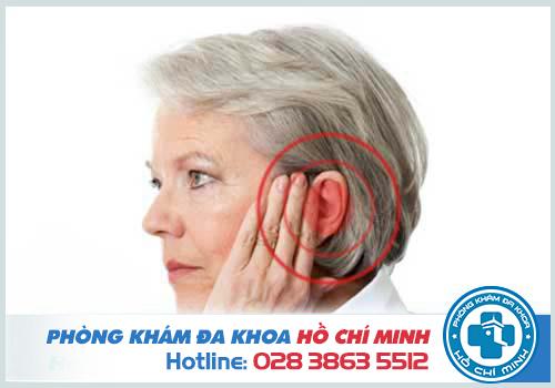 Bệnh ù tai thường gặp ở những người cao tuổi