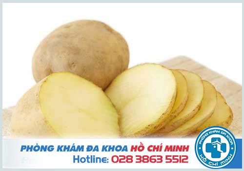 Chữa sùi mào gà bằng khoai tây cần làm những gì?
