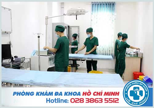 Máy móc xét ghiệm tinh trùng yếu tại đa khoa Đại Đông