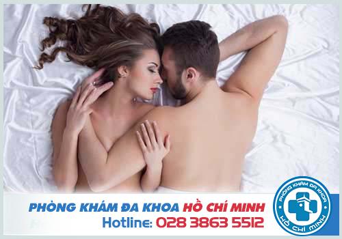 Nên tránh quan hệ tình dục trong khi đặt thuốc phụ khoa