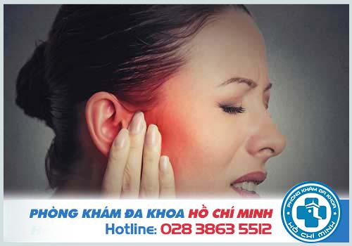 Đau nhức bên trong lỗ tai là bị gì và Cách chữa trị