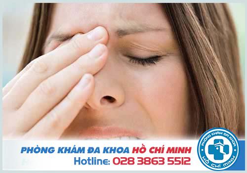 Polyp mũi gây ảnh hưởng tới thị lực của người bệnh