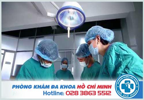 Chữa bệnh hậu môn trực tràng bằng cách phẫu thuật
