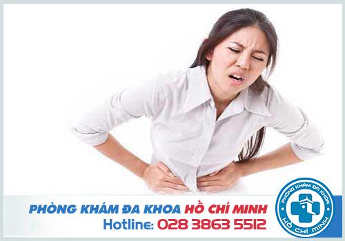 Người bệnh sẽ cảm thấy đau nhói vùng bụng dưới và vùng chậu