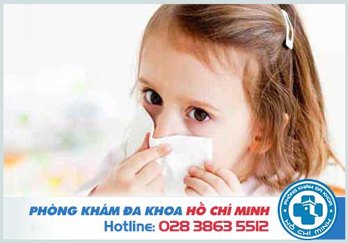 Hình ảnh viêm mũi dị ứng ở trẻ em