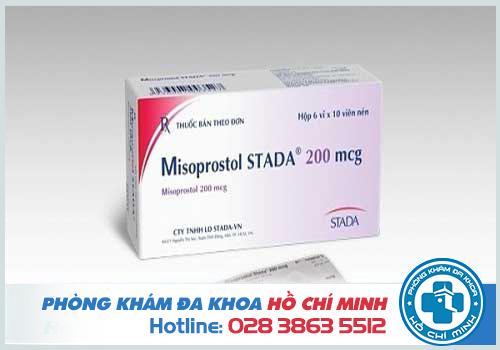 Hướng dẫn sử dụng thuốc phá thai misoprostol 200mg và mifepristone