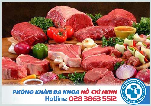 Bị bệnh trĩ có nên ăn tôm thịt bò