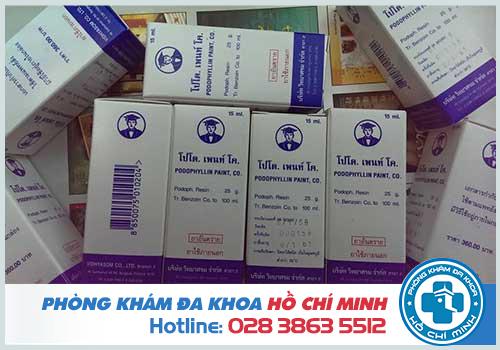 Mua thuốc podophyllin 25 ở Cao Bằng chữa bệnh sùi mào gà giá rẻ