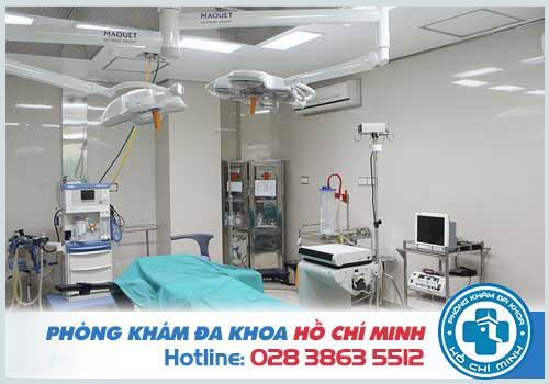 TPHCM có đủ đội ngũ y bác sĩ, thiết bị y khoa hiện đại chữa nang mào tinh hoàn