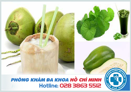 Cách phá thai bằng nước dừa, rau má và đu đủ xanh