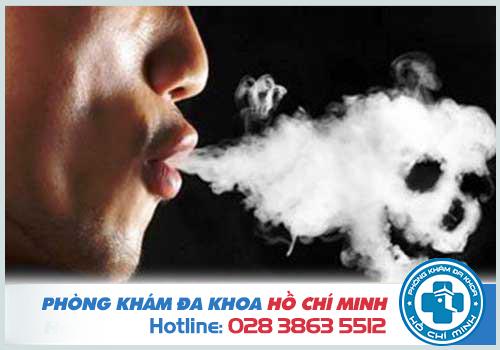 Ngủ ngáy thường xuất hiện ở những người nghiện thuốc lá