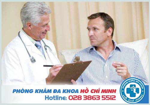 Phòng khám bộ phận sinh dục nam bảo mật ở TPHCM