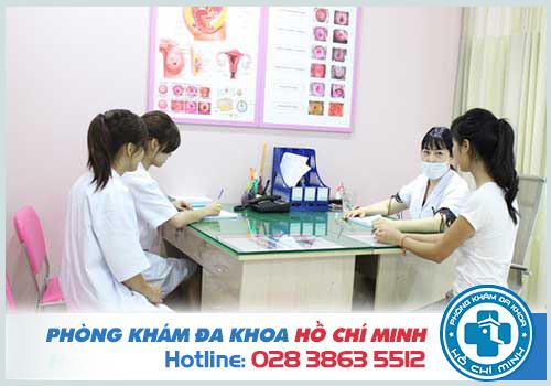 Quy trình khám bệnh tại Phòng khám phụ khoa TPHCM