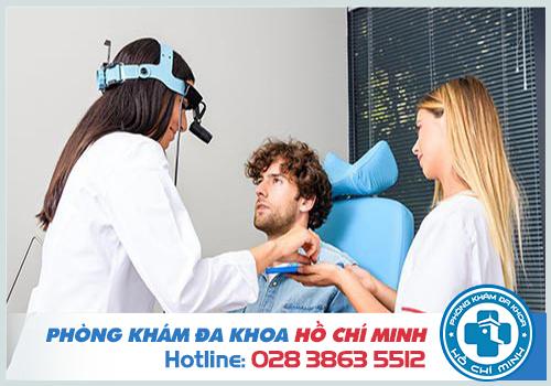 Phòng khám tai mũi họng quận 1 uy tín khám nhanh