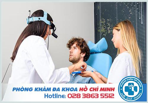 Phòng khám tai mũi họng quận 5 uy tín khám nhanh chính xác