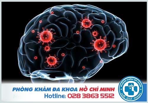 Giang mai ảnh hưởng đến thần kinh và não bộ