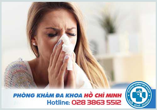 Sổ mũi lâu ngày không khỏi ở người lớn và trẻ em là do viêm mũi dị ứng