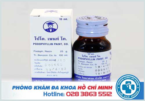 Thuốc podophyllin 25 có tốt không