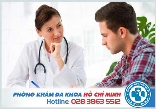 Nhanh chóng đến gặp bác sĩ để có những kết quả kiểm tra chính xác