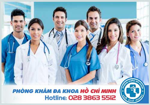 Phòng khám quy tụ đội ngũ y bác sĩ giàu kinh  nghiệm