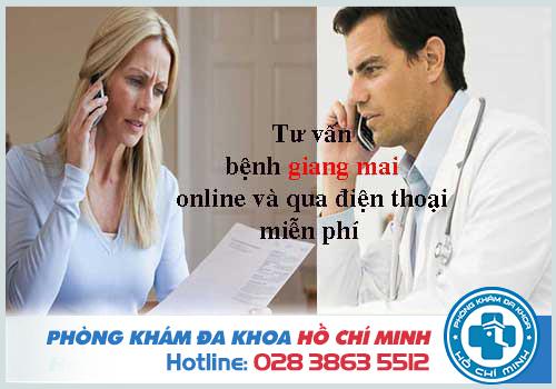 Tư vấn bệnh giang mai online và qua điện thoại miễn phí