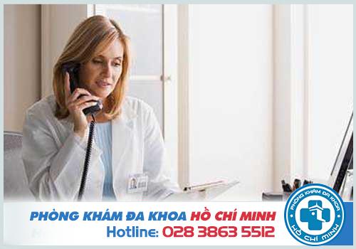 Tổng đài tư vấn bệnh phụ khoa của Phòng khám Đa Khoa TPHCM