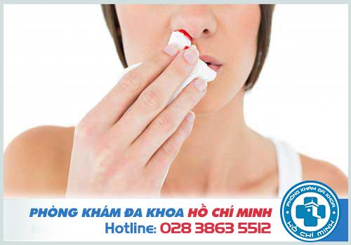 Viêm xoang mũi chảy máu nguy hiểm khi không điều trị đúng cách